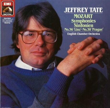 DE EMI  EL27 0306 1 ジェフリー・テイト モーツァルト・交響曲36&38番