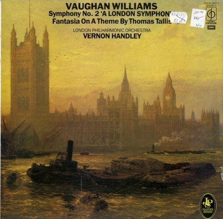 GB EMI CFP41 4411 1ハンドリー ロンドン・フィル ヴォーン=ウィリアムズ・交響曲2番、トマス・タリスの主題による幻想曲