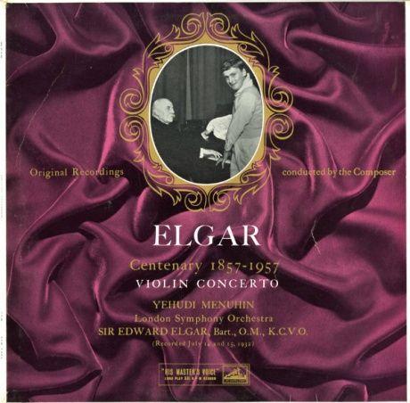 GB EMI ALP1456 メニューイン&エルガー エルガー・ヴァイオリン協奏曲
