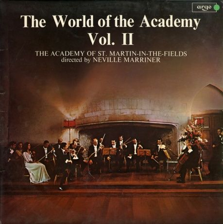 GB argo SPA/A163 ネヴィル・マリナー THE WORLD OF THE ACADEMY Vol.2