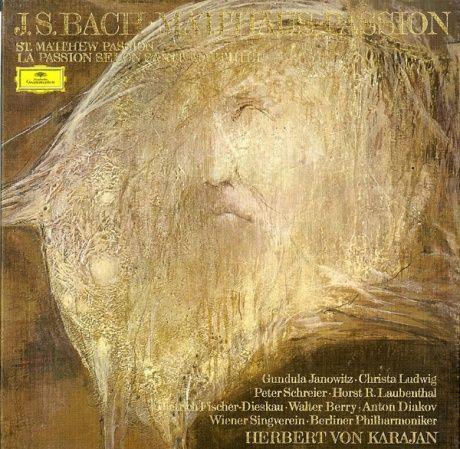 DE DGG 2711012 カラヤン&ベルリンフィル シュライヤー フィッシャー=ディースカウ ヤノヴィッツ バッハ・マタイ受難曲(全曲)