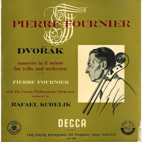 GB  DECCA  LXT2999 ラファエル・クーベリック ドヴォルザーク・チェロ協奏曲