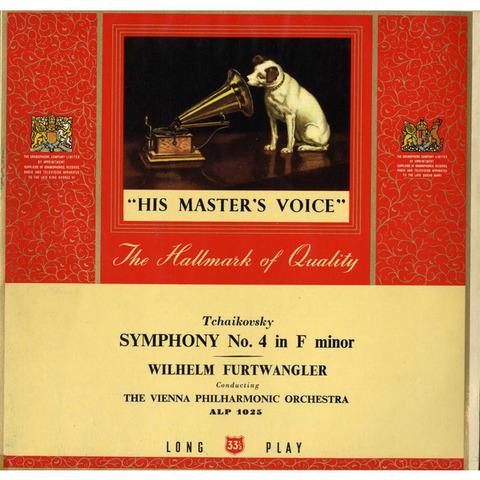 GB  EMI  ALP1025 フルトヴェングラー  チャイコフスキー・交響曲4番