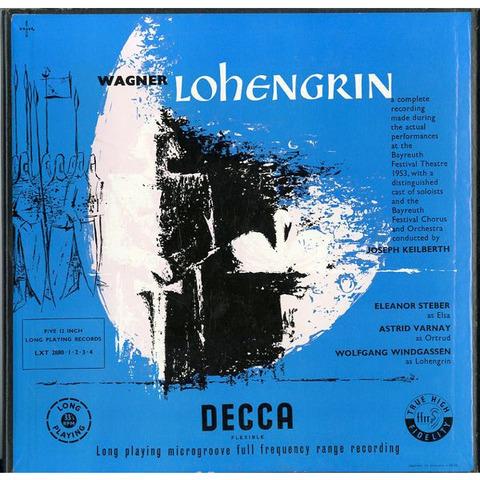 GB  DECCA  LXT2880-4 カイルベルト  ワーグナー・ローエングリン