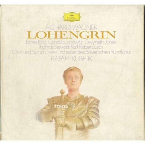 DE DGG  2720 036 クーベリック ワーグナー・ローエングリン(全曲)