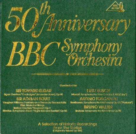 GB BBC BBC 4001 エルガー&ボールト&ブッシュ&トスカニーニ&ワルター BBC交響楽団 50周年