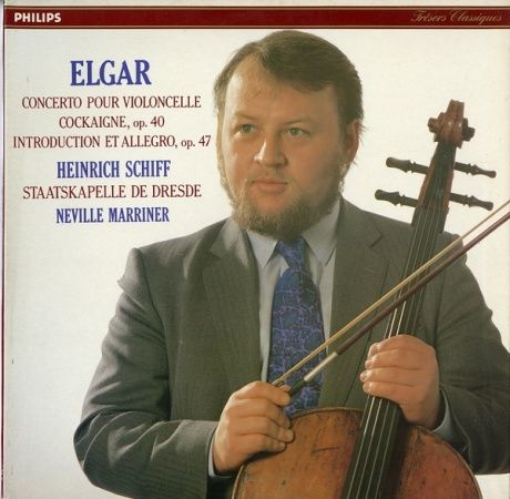 FR PHILIPS 6514 316シフ エルガー・チェロ協奏曲