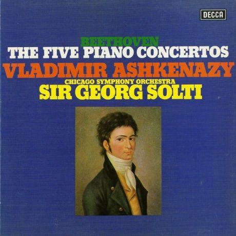 GB DECCA SXLG6594 ウラディーミル・アシュケナージ ゲオルグ・ショルティ シカゴ交響楽団 ベートーヴェン・ピアノ協奏曲全集