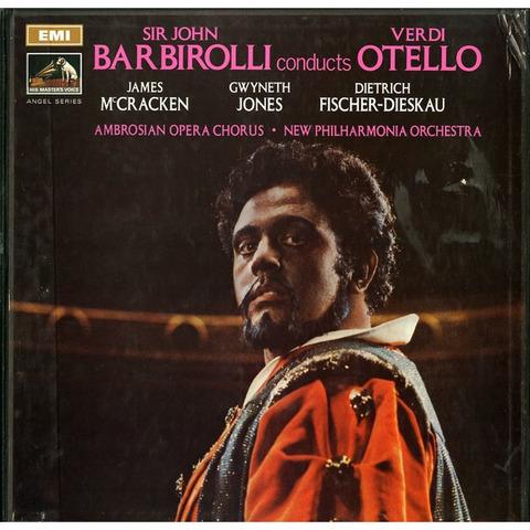 GB EMI SLS940/3 ジョン・バルビローリ ヴェルディ・オテロ(全曲)