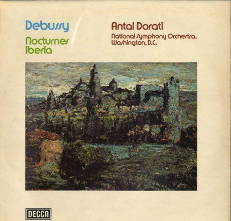 GB  DECCA  SXL6742 ドラティ  ドビュッシー・管弦楽