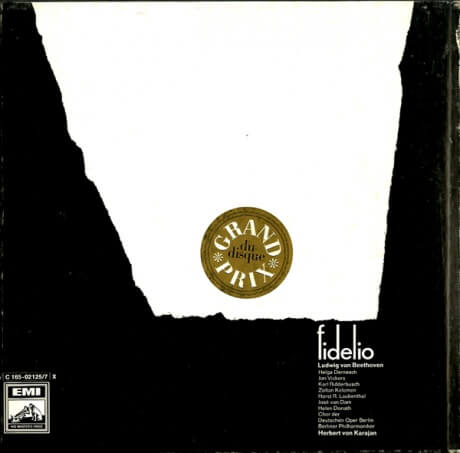 DE ELECTROLA C165-0212517 ヘルベルト・フォン・カラヤン ベートーヴェン・フィデリオ