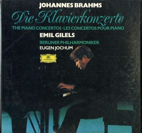 DE  DGG  2707 064 ギレリス&ヨッフム  ブラームス・ピアノ協奏曲1-2番