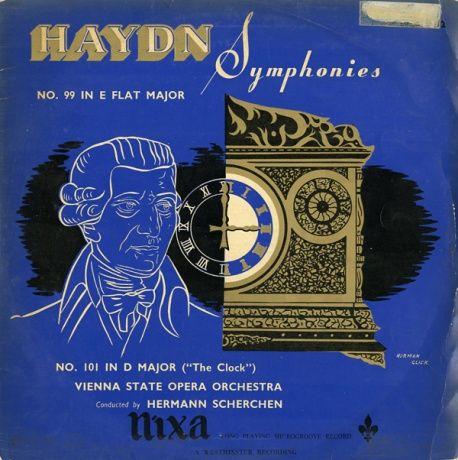 GB NIXA  WLP5102 ヘルマン・シェルヘン ハイドン・交響曲99番/101番「時計」