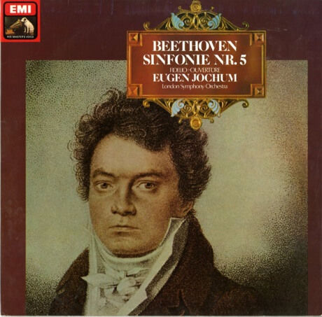 DE EMI 1C063-02 959ヨッフム ベートーヴェン・交響曲5番「運命」/序曲フィデリオ