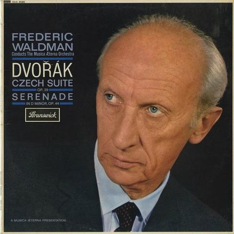 GB BRUNSWICK SXA4548 ウォルドマン ドヴォルザーク・チェコ組曲・セレナード