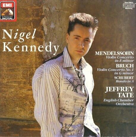 DE  EMI  EL7 49663 1 ジェフリー・テイト メンデルスゾーン・ヴァイオリン協奏曲