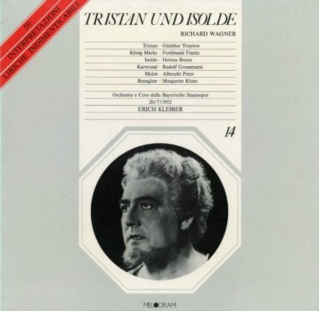 IT MELODRAM  014 エーリヒ・クライバー ワーグナー・トリスタンとイゾルデ(全曲)
