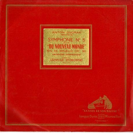 FR EMI FALP104 レオポルド・ストコフスキー ドヴォルザーク・交響曲5番