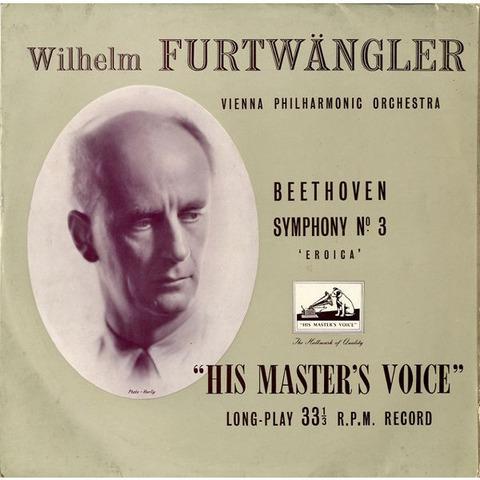 GB EMI  ALP1060 ヴィルヘルム・フルトヴェングラー ベートーヴェン・交響曲3番