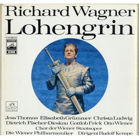 DE EMI 1C161-0001721 ルドルフ・ケンペ ワーグナー・ローエングリン