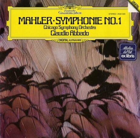 DE DGG  2532 020 クラウディオ・アバド マーラー・交響曲1番「巨人」