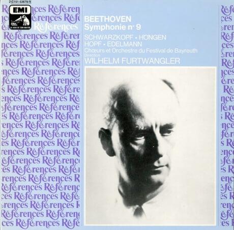 FR  VSM  C151-53678/9 フルトヴェングラー ベートーヴェン・交響曲9番