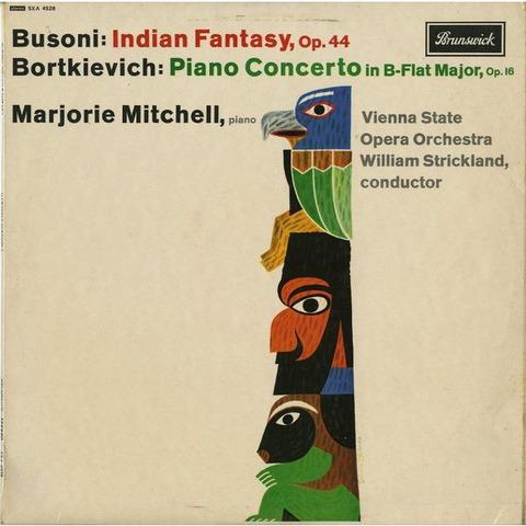 GB BRUNSWICK SXA4528 マージョリー・ミッチェル ブゾーニ・インディアン幻想曲