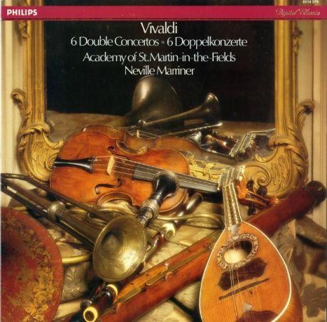 NL  PHILIPS  6514 379 ネヴィル・マリナー ヴィヴァルディ・協奏曲集