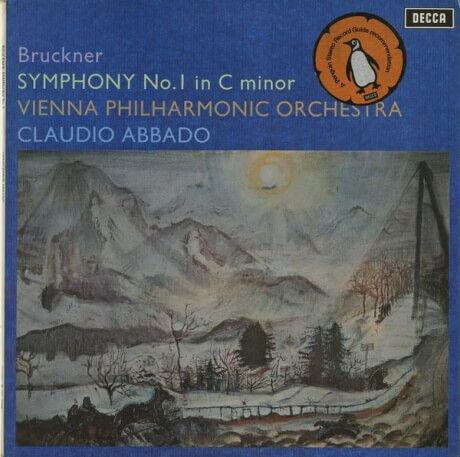 GB DECCA SXL6494 アバド&ウィーンフィル ブルックナー・交響曲1番