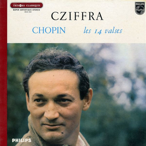 FR PHILIPS 6515 004 ジョルジュ・シフラ ショパン・ワルツ曲集