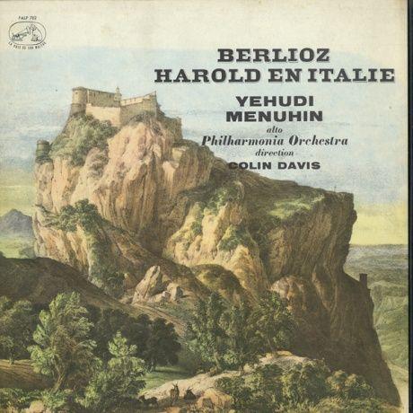 FR EMI FALP782 ユーディ・メニューイン ベルリオーズ・イタリアのハロルド