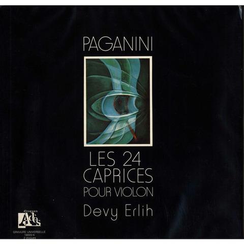 FR Ades 19003/4 2Xドヴィ・エルリー パガニーニ・24奇想曲