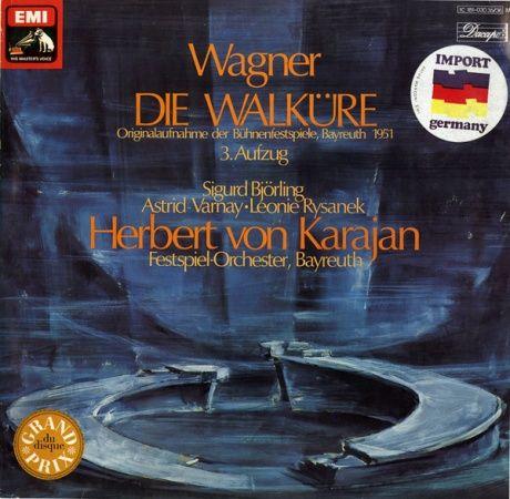 DE VSM  C181-030 35/36 ヘルベルト・フォン・カラヤン ワーグナー・ワルキューレ