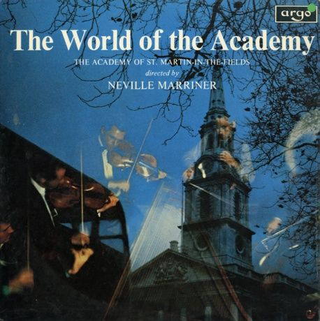 GB argo SPA-A101 ネヴィル・マリナー THE WORLD OF THE ACADEMY