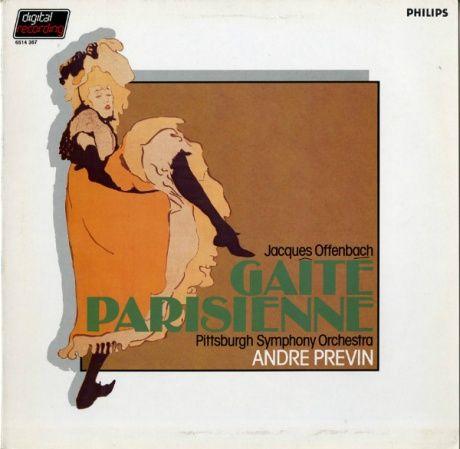 NL PHILIPS 6514 367 アンドレ・プレヴィン オッフェンバック・パリの喜び