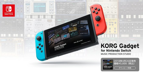 KORG Gadget for Nintendo Switch (1)