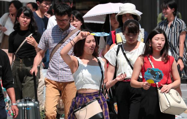 【酷暑】名古屋、40℃超える