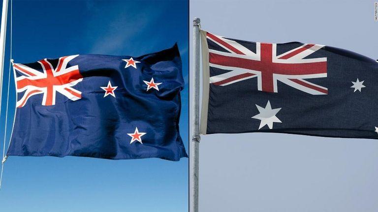 【悲報】「真似すんな!」 NZ、オーストラリアは国旗を「真似」していると批判 独自デザインの採用要求