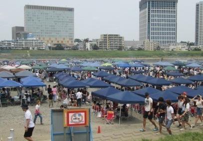 【悲報】多摩川でBBQしていた大学生、川に飛び込みおぼれて死亡