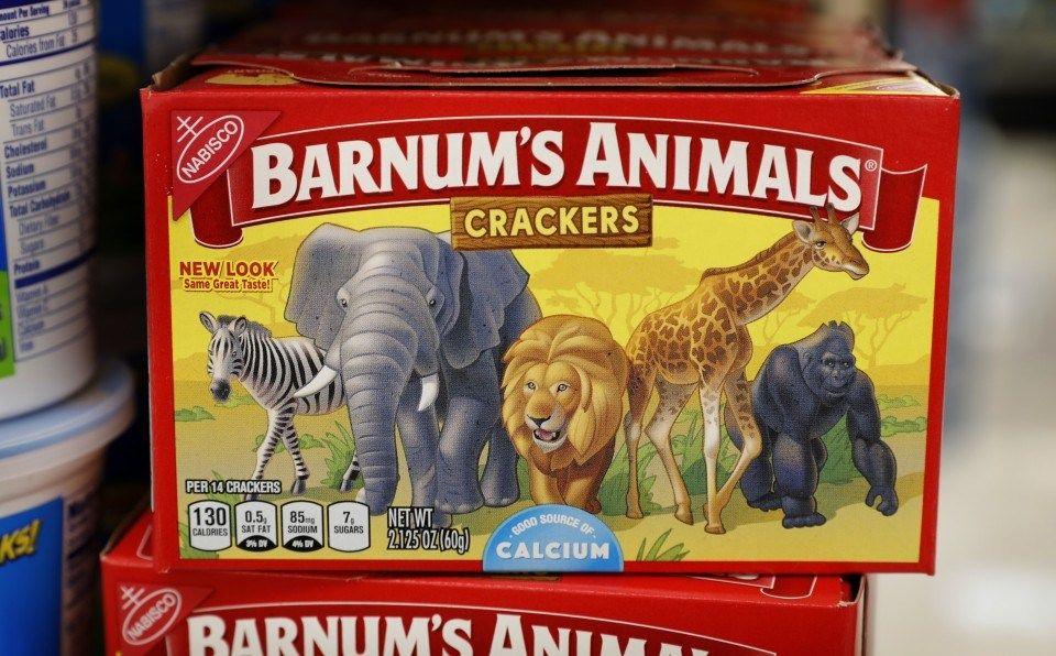 【悲報】ナビスコのどうぶつクッキーが、動物愛護団体(PETA)からの苦情で檻のないデザインでパッケージを新デザイン