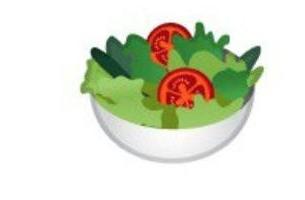 【悲報】Googleのサラダ絵文字、ヴィーガンに配慮して卵が無い仕様に