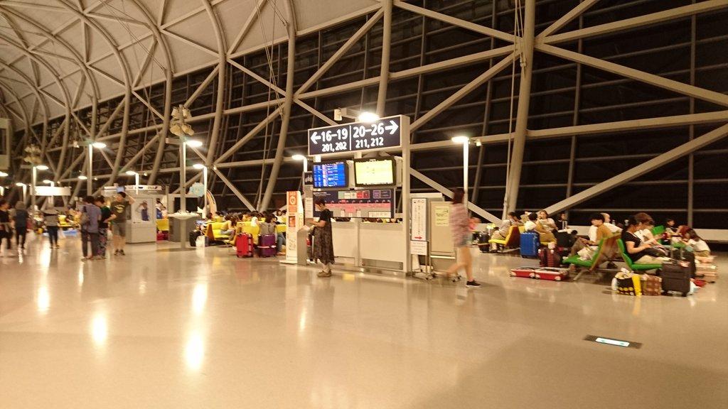 【(›´ω`‹ )】関西国際空港のコンビニ、食料品 尽きる