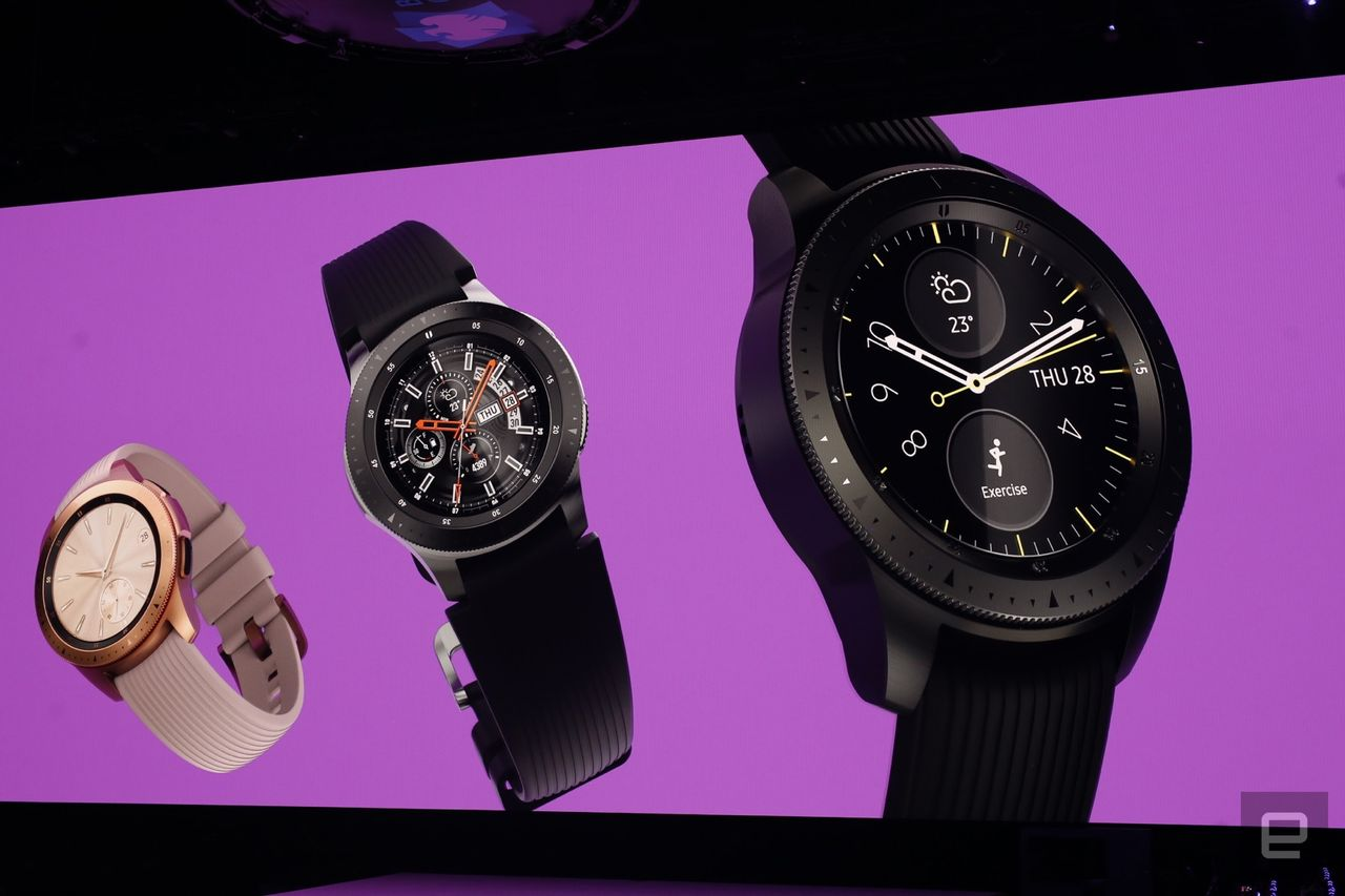 【新型時計】Galaxy Watch発表。うわさの新スマートウォッチはLTE接続と数日間駆動可能なバッテリー搭載