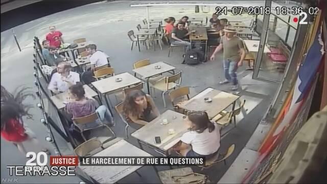 【動画】通りすがりの男から、卑わいな言葉をかけられたうえに顔を殴られた女性 衝撃の映像を公開