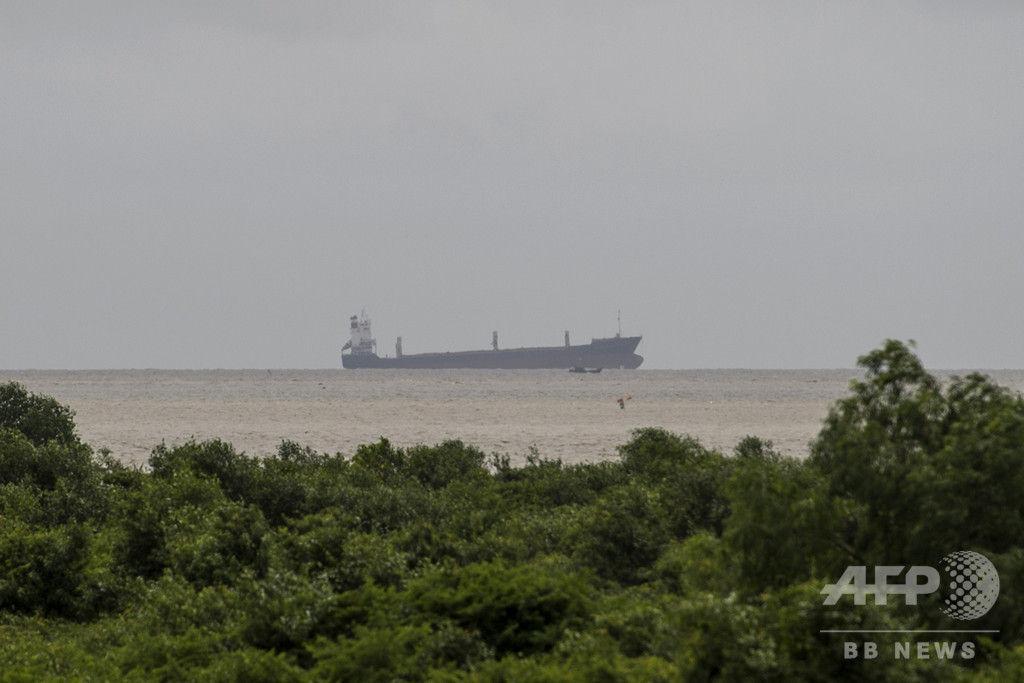 【不気味】ミャンマー領海で見つかった「幽霊船」、正体判明