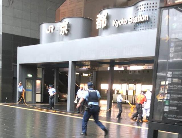 【台風21号】京都駅のガラスの天井が崩落