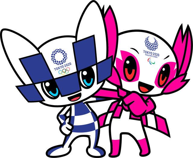 東京五輪のマスコット、「ミライトワ」と「ソメイティ」と命名 未来+永遠、ソメイヨシノ+so mighty