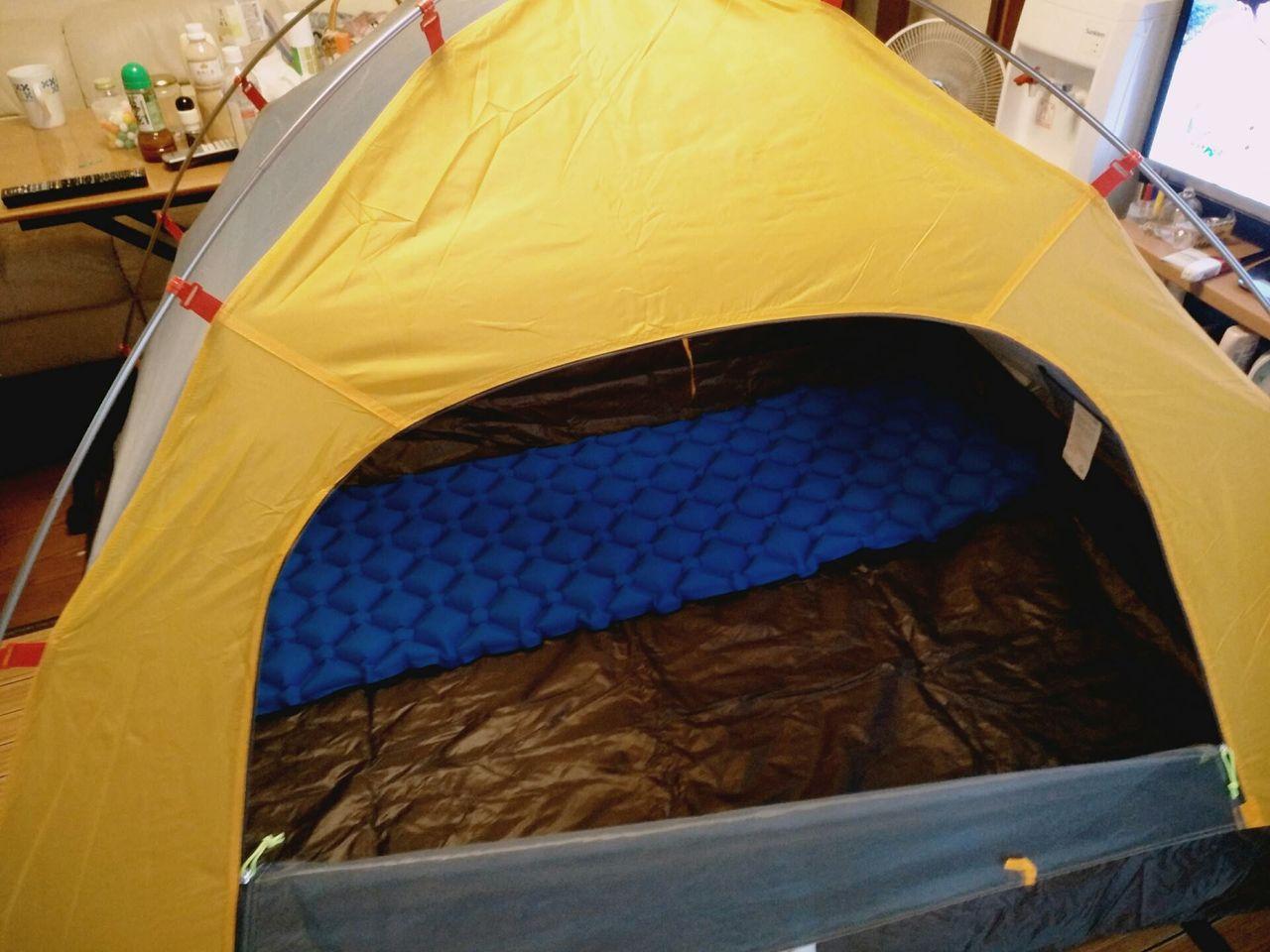 アマゾンで買った6000円のテント届いたwwwww