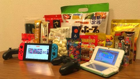 ゲームしながら食べるのに一番適してるお菓子って何?