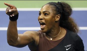 【悲報】テニス セリーナ・ウィリアムズさん全く懲りてない模様
